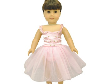 Ballet Ballerina Pink Dress for 18 inch dolls