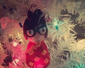 Mei Overwatch Winter Wonderland Ornament/Charm