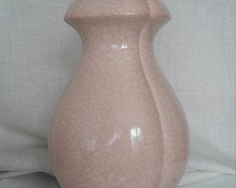 Ceramic peach colour lampbase