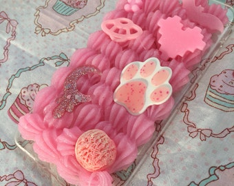 RTS Pretty Pink Decoden Phone Case for IPhone 7 Plus