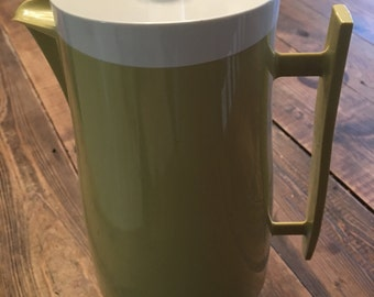 """Vintage Aladdin's """"Beverage Butler"""" Thermos Pitcher #4450/Retro Kitchen/Retro Thermos Pitcher/Vintage Thermos Pitcher/Collectible Pitcher"""