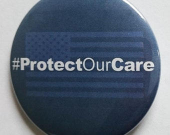 Protect Our Care ProtectOurCare Inauguration Democrat Liberal Healthcare Obamacare Insurance Election President 2017 Political