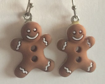 Gingerbreadman Earrings