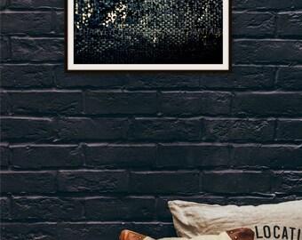 Photo print art photography abstract black grey printing 8x12 10x15 12x18 14x21 16x24 18x27 interior deco fiber fabrics wear foto macro
