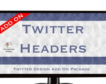 Twitter Header Add On Package - Purchase With Branding Package Only