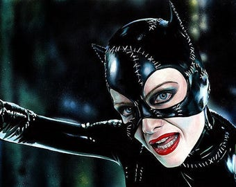 CATWOMAN A3 Giclee Print