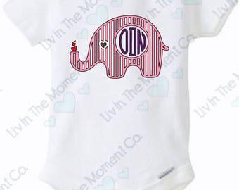 Elephant Love Onesie