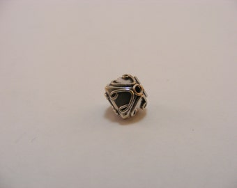 Sterling Silver Handmade Bali Bead Style B435