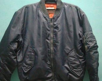 SALE 10 % Vintage Flight Jacket 90s bomber