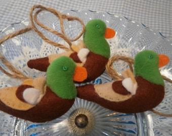 Mallard duck hanging decoration