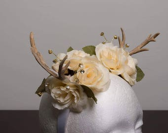 Children's antler floral headband *children's accessories/ photographysical accessory