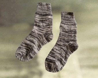 Knit socks for men, Mens wool socks, Merino wool socks, Pure wool socks, Mens knit wool socks, Organic wool socks, Wool warm socks men