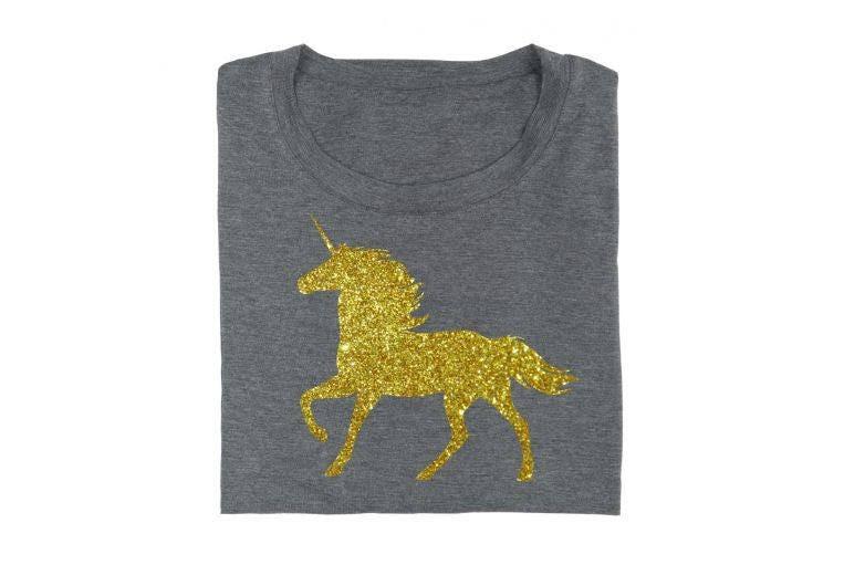 Iron On Unicorn Glitter Iron On Vinyl Shirt Design Diy