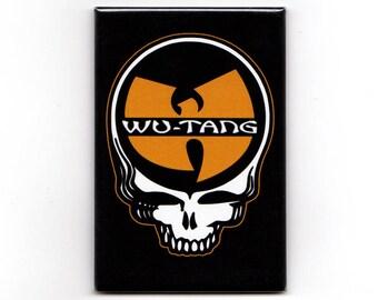 "Wu-Tang Stealie - 2"" x 3"" Magnet"