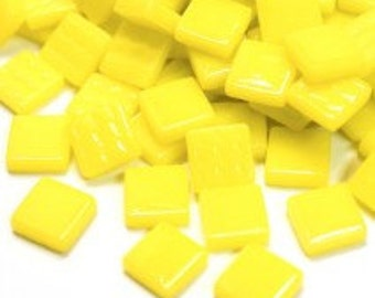 12mm Mosaic Craft Tiles - Lemon Tart Gloss - 50g