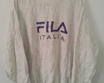 Rare Vintage FILA ITALIA Sweatshirt Size M