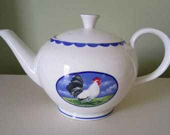 Burleigh Tea Coffee Pot Animal Farm By Alice Cotterell England