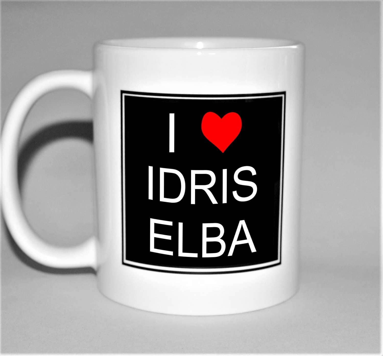 Idris Elba Mug I Love 18th Birthday Gift