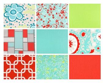 "Premier Prints ""Harmony"" Fabric Remnants/Scrap Packs - Free Shipping"