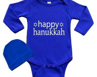 Infant Happy Hanukkah Set