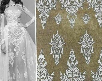 Wedding dress fabric Etsy