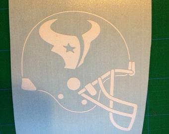 Houston Texans Vinyl Sticker