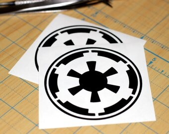 Star Wars Empire Vinyl Sticker