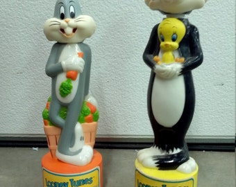 Looney Tunes Bubble Bath 1987 Bugs Bunny and Sylvester & Tweety