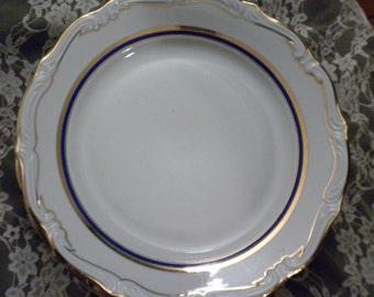 Vintage Wakbrzych Polish China salad plates