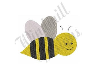 Busy Bee - Machine Embroidery Design