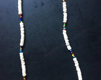 Rasta Seed Bead Necklace