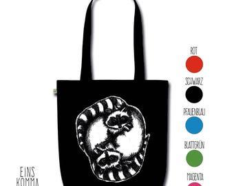 "Organic cotton bag ""Raccoon"""