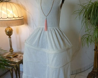 Antique Pannier Hoop Skirt, Crinoline, 1920's