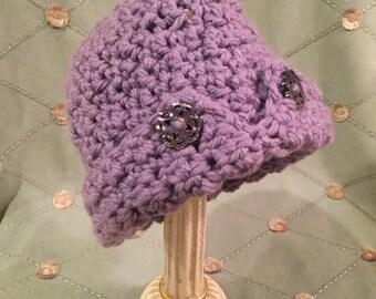 Bristle Cloche style hat