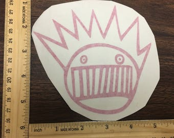 Pink Boognish Ween Decal