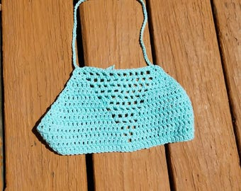 Crochet Summer Halter Crop Top
