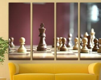 Chess Decor Etsy