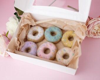 Felted doughnut newborn photography prop