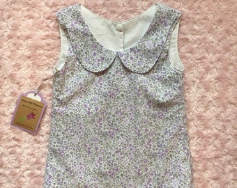 Peter Pan collar top size 4t