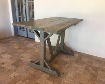 Handmade Custom Pub Table