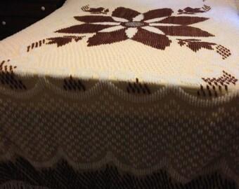 Chennile bedspread