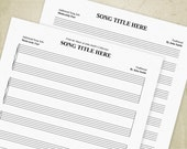 Music Staff Bar Charts Pr...