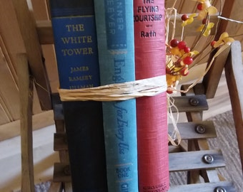 Antique books- set of 3