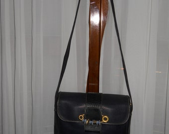 Authentic vintage Mazzini bag ! Canvas and genuine leather!