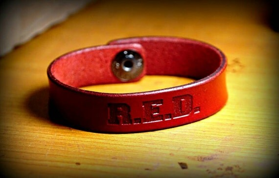 Ryan Weaver R.E.D. leather strap. REMEMBER EVERYONE DEPLOYED