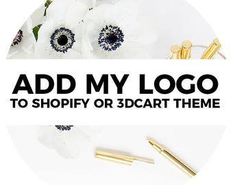 Add Logo to Shopify or 3dcart Theme