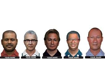 3d Faces, 3D Head