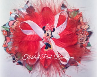 Minnie Mouse Hair Bow.