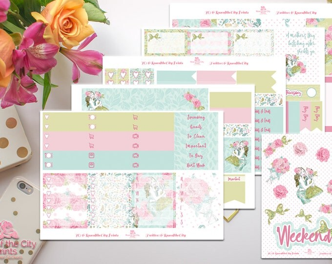 Featured listing image: A Mother's Love Weekly Sticker Kit