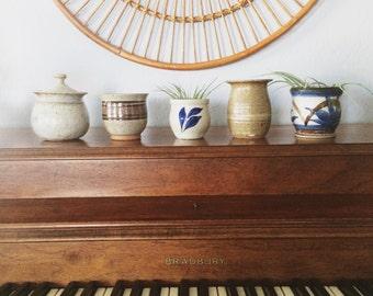 SALE!!! Mini vintage ceramic pots